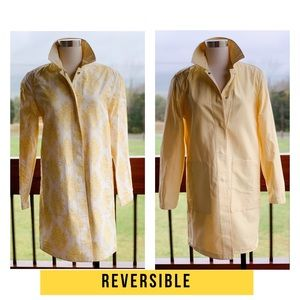 Galley *Reversible* lightweight yellow jacket! XS